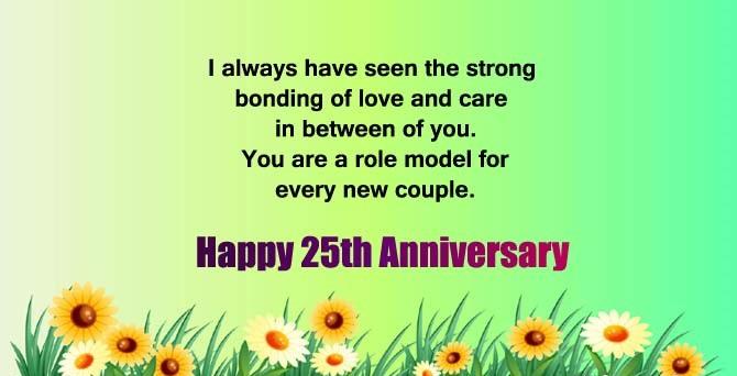 25th Work Anniversary Wishes