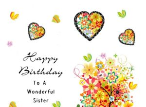 Birthday Wishes for Sister