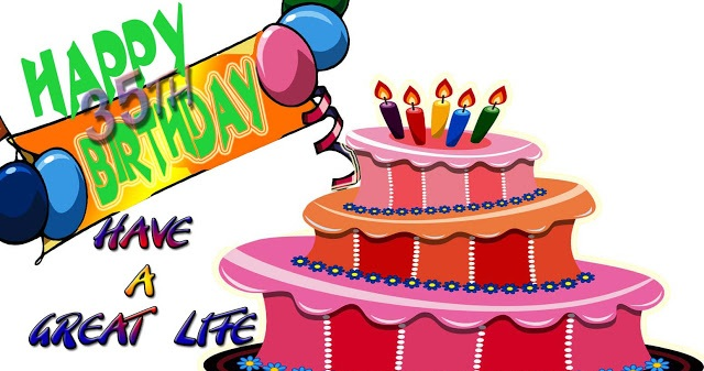 35th Birthday Clip Art