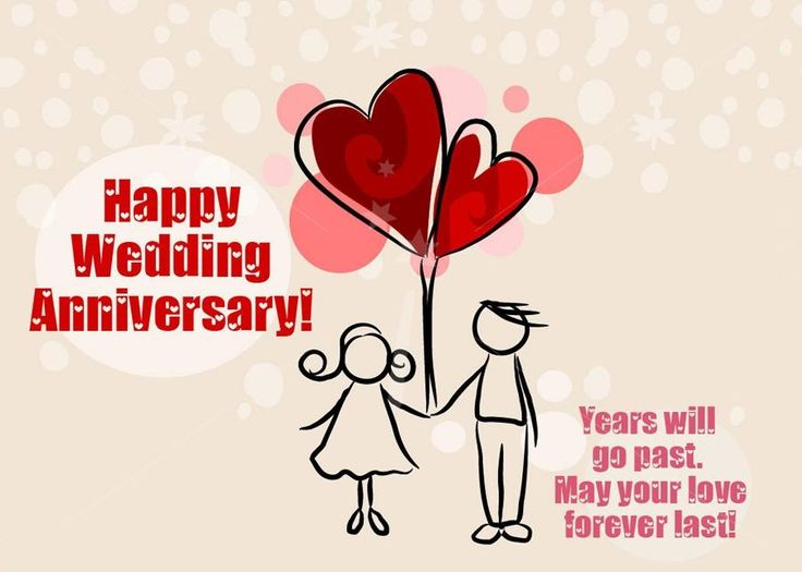 Happy wedding anniversary wishes for wife husband parents
