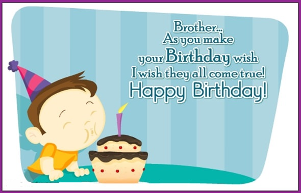 Birthday Wishes For Younger Brother From Elder Sister Funny Happy