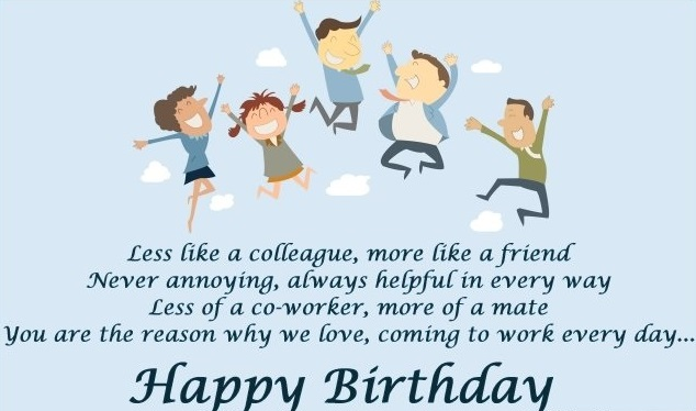133 Best Birthday Wishes For Colleagues Bday Messages Happy Birthday Wishes To Team Member