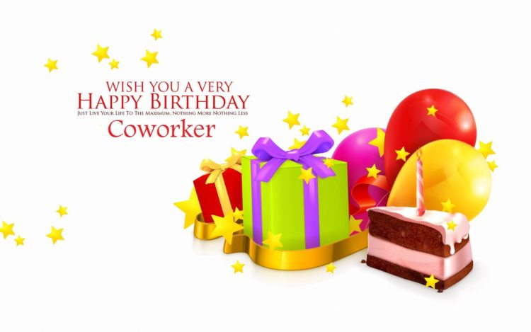 Birthday Wishes For Colleague Office