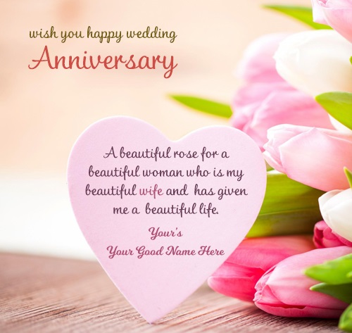 Happy Anniversary To A Beautiful Couple Quotes: 111+ First Anniversary Wishes For Wife (Quotes Messages