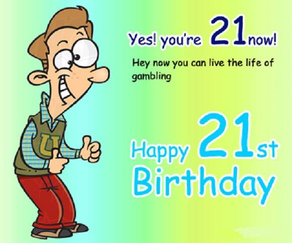 60 Best Happy 21st Birthday Wishes – 21st Birthday E Cards