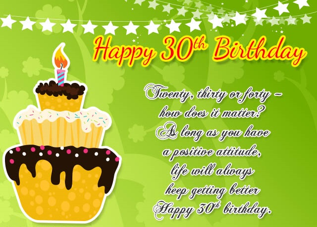 50 Best 30th Birthday Wishes For Loved One Perfect Way To Say