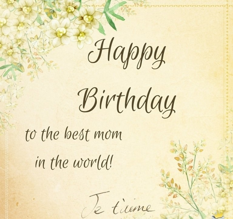 140 top birthday wishes for mom mothers birthday quotes to birthday sms and saying for mom m4hsunfo