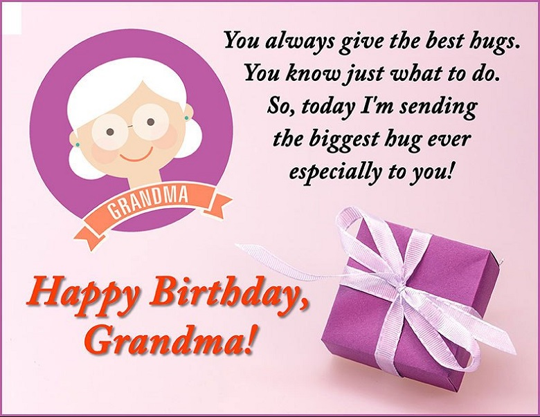 50 Top Birthday Wishes For Grandma Grandmother