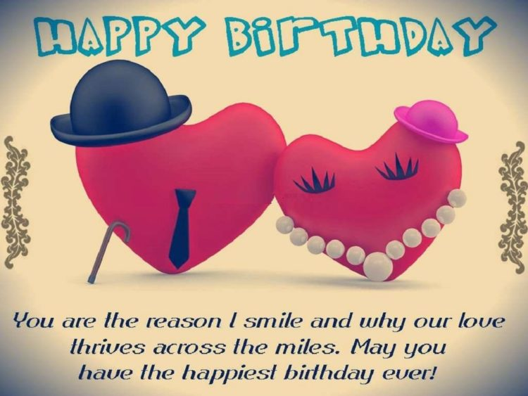 230 Romantic Happy Birthday Wishes For Boyfriend To Impressed Him