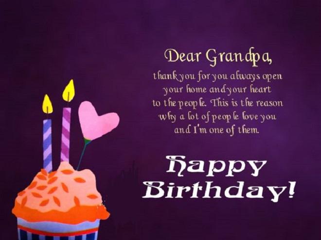 Birthday Wishes For Grandpa