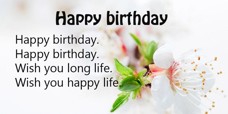 Popular Birthday Saying
