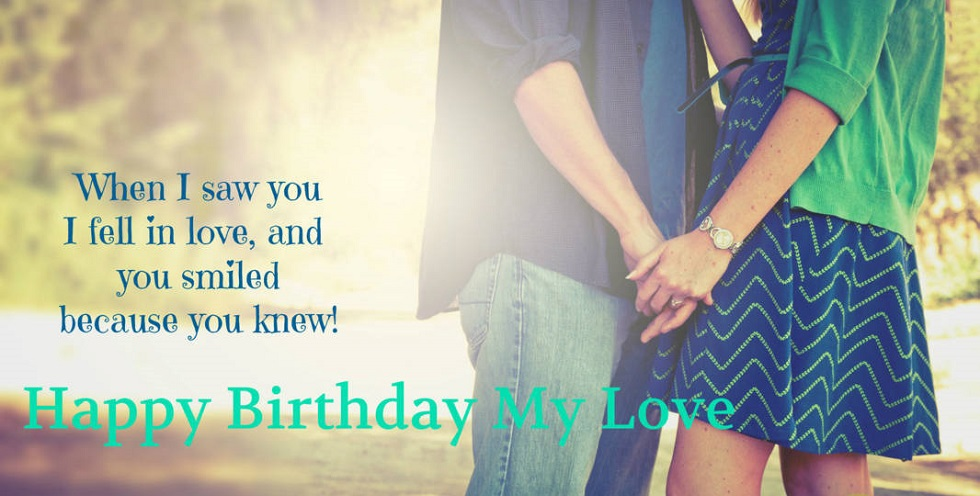 Cute happy birthday quotes for girlfriend