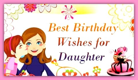 Wondrous 390 Happy Birthday Wishes For Daughter From Heart Quotes Messages Personalised Birthday Cards Paralily Jamesorg