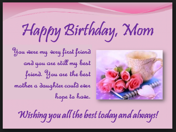 Prime Special Birthday Wishes For Mom From Daughter And Son Deep Quotes Personalised Birthday Cards Beptaeletsinfo
