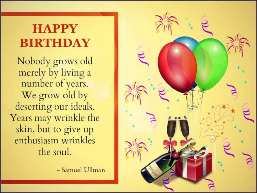 Motivational Birthday Quotes