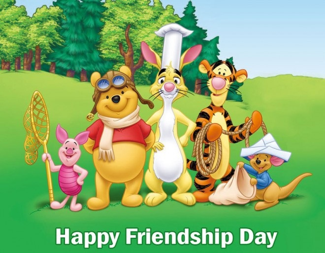 Happy Friendship Day Ecards With Messages