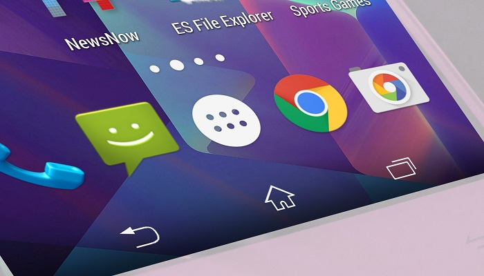 how to customize the navigation bar in android