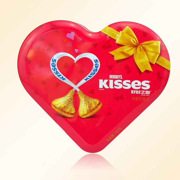 Gift Boxes With Chocolate Kisses