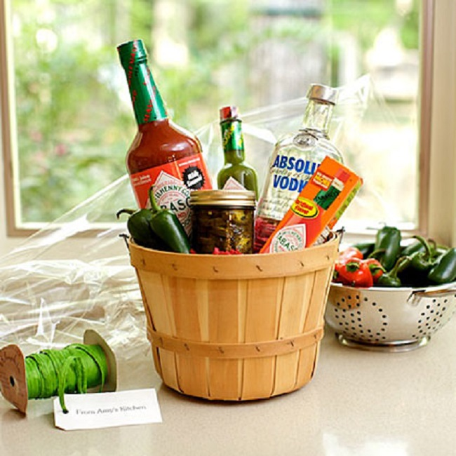 Homemade Gift Baskets