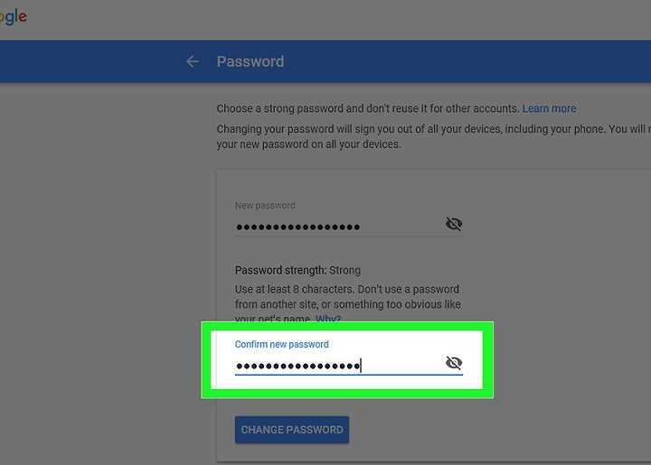 how to make sign out from gmail
