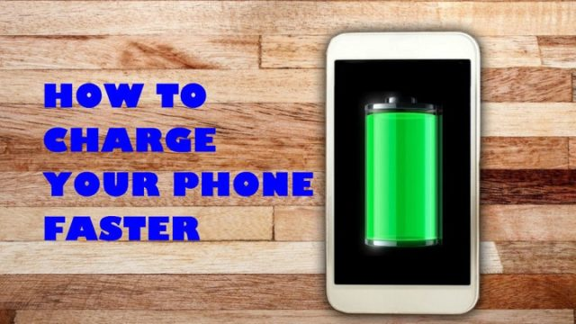 How To Charge Your Phone Faster