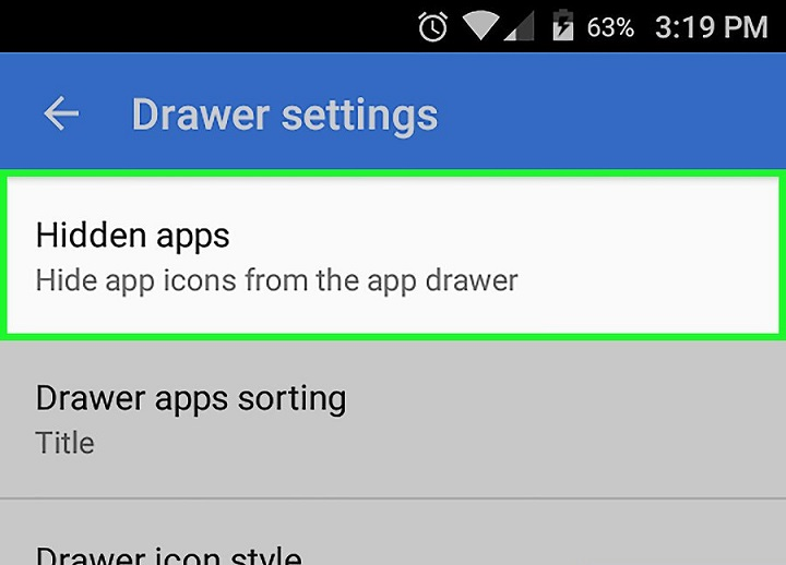 How to Hide Apps on Android