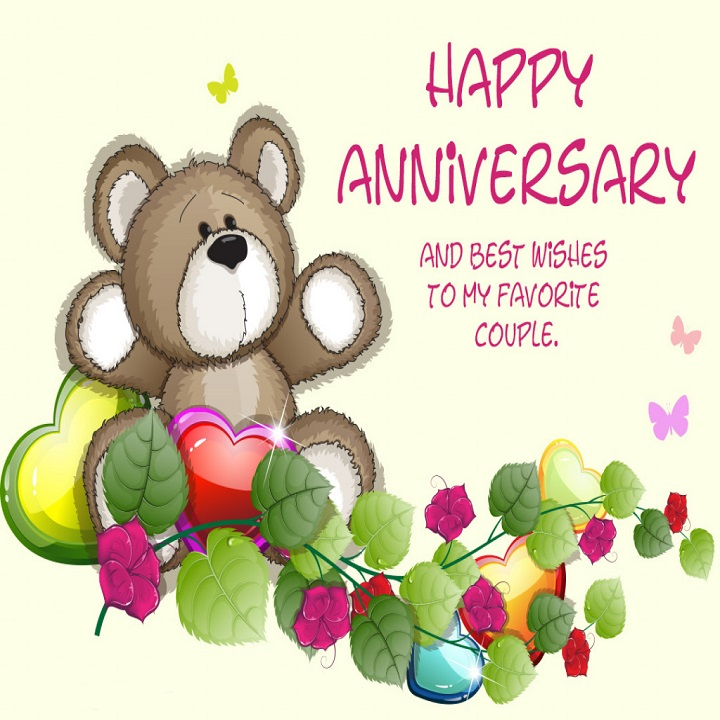 Happy wedding anniversary wishes for couple allupdatehere