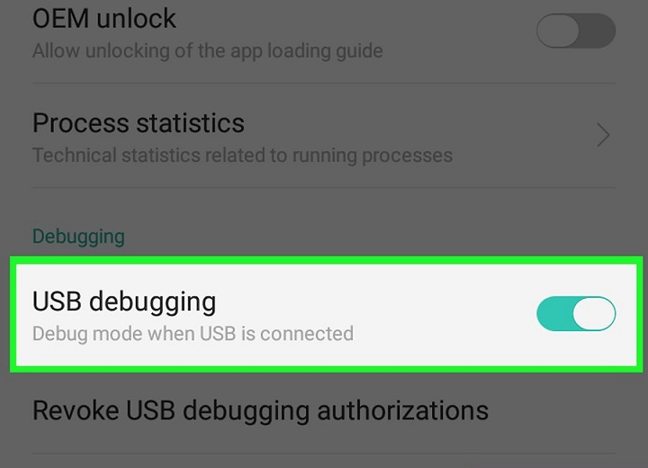 Debug interface Drivers Android htc