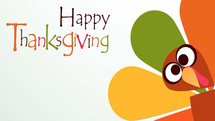 Happy Thanksgiving Cards with Quotes Sayings for Facebook