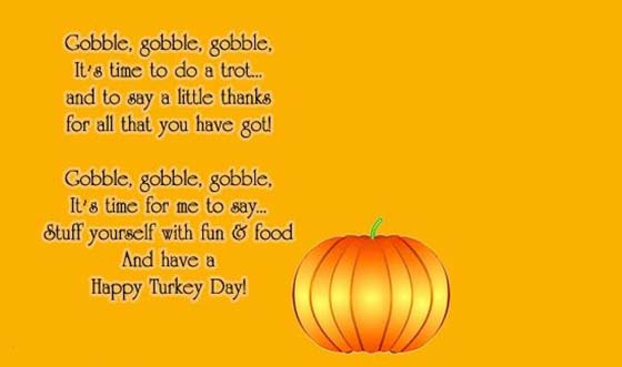 Thanksgiving Cards Quotes