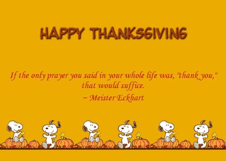 Happy Thanksgiving Sayings