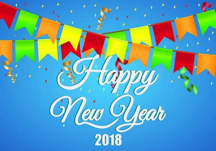 Famous happy new year 2018 wishes