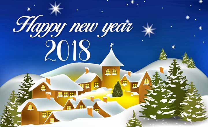Happy new year 2018 status, Messages, SMS