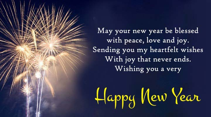 top happy new year greetings