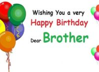 Funny birthday wishes for brother