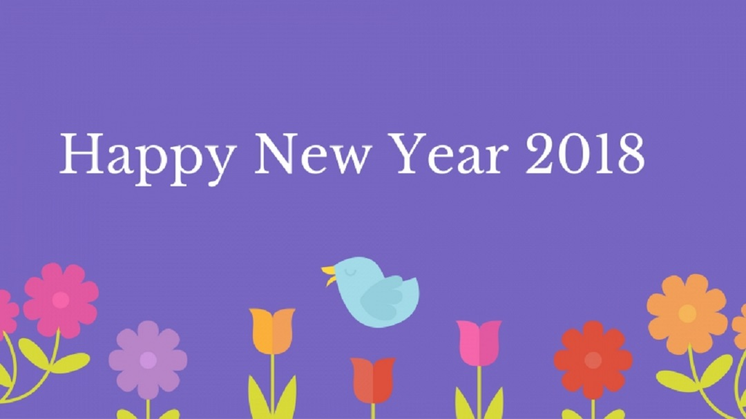 Happy New Year 2018 HD Images and Wallpapers