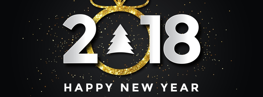 Happy New Year 2018 HD Cover Photos