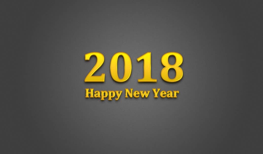 Happy New Year 2018 Images – Latest New Year HD Pictures