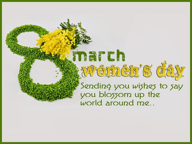Happy International Women's Day Photos With Wishes