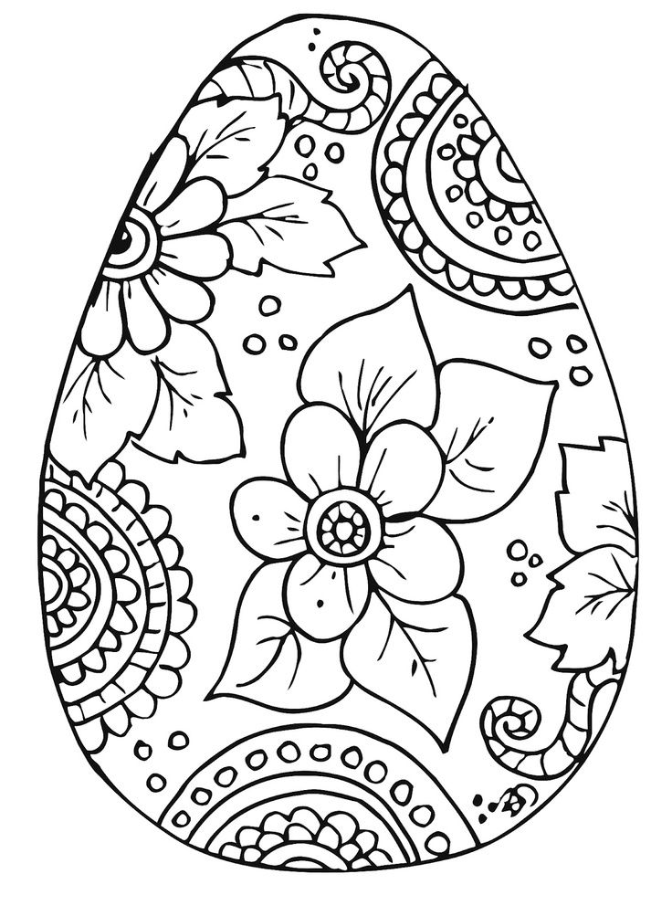 Happy Easter Sunday Eggs Clipart, Images & Pictures, Coloring Pages ...