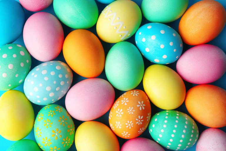 Happy Easter Sunday Eggs