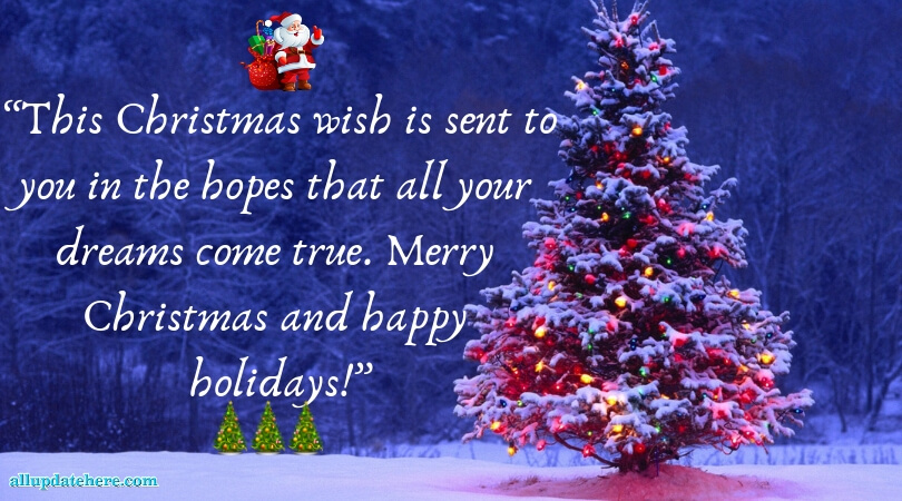 Wonderful Merry Christmas Greetings Images HD - Xmas Quotes SMS