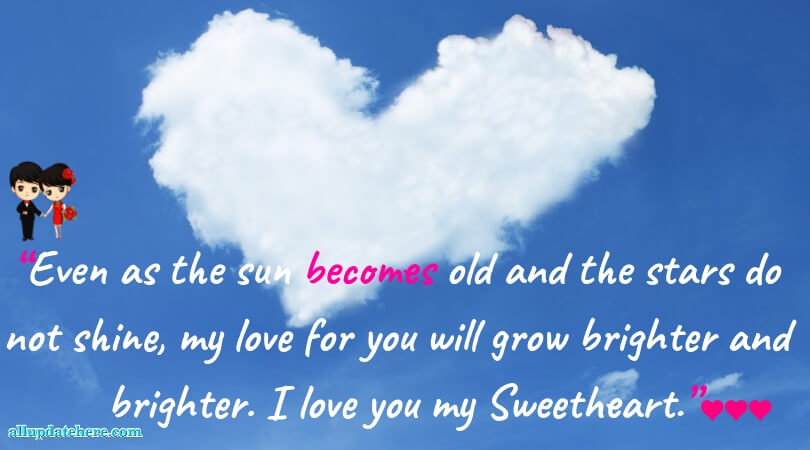 best love sms for her