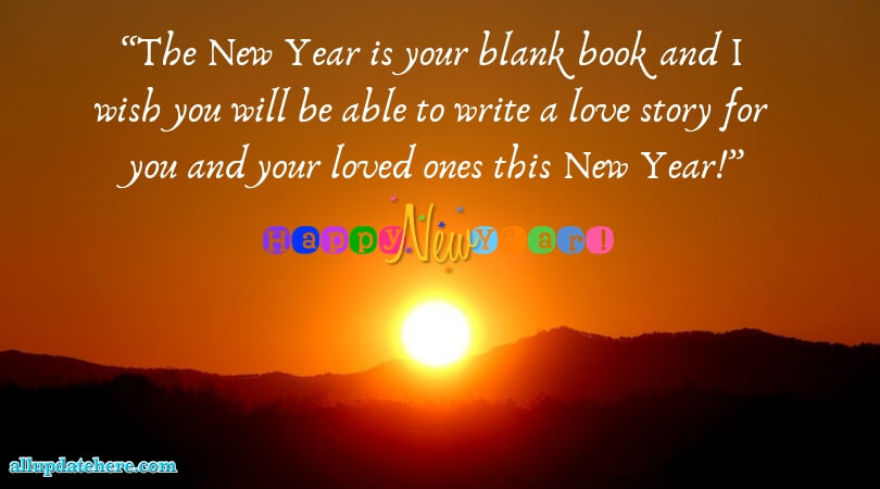 new year pictures and wishes