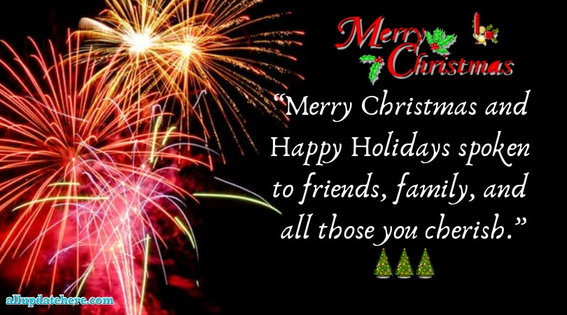 Merry Christmas pictures with quotes