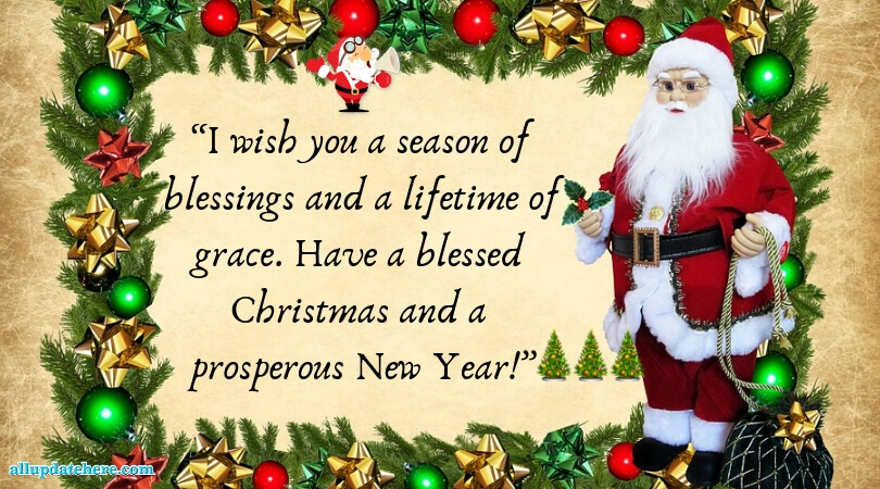 Best Merry Christmas Messages With Images - Xmas Wishes & SMS