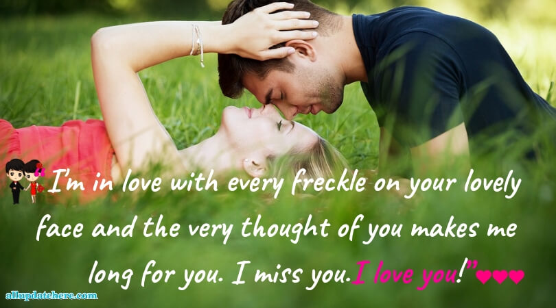 sms for gf to make her happy