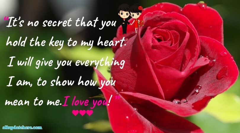 love sms for girlfriend