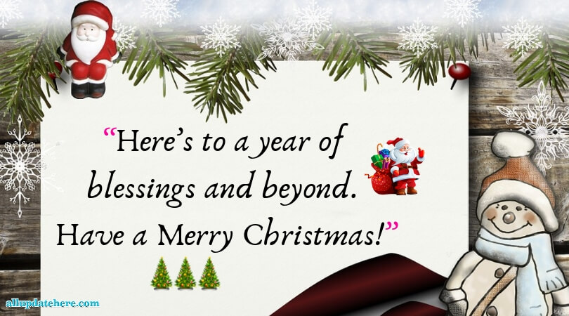 merry christmas wish quotes