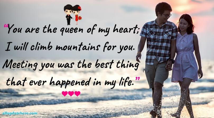 sweet romantic sayings